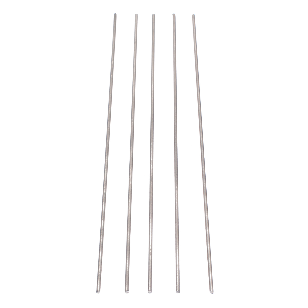 5pcs <font><b>2mm</b></font> Diam Ti GR5 Metal <font><b>Rod</b></font> 250mm Titanium Round Bars Practical Accessories for Industry Welding Tools image