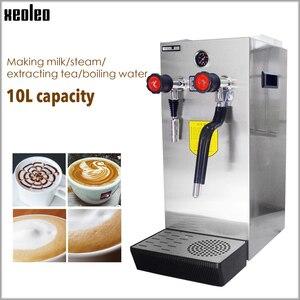 Image 1 - Xeoleo Commerical Melk Bubble Machine Kokend Water Machine Stoomboot Waterkoker Teapresso Machine Koffie Maker Melkschuim Maker