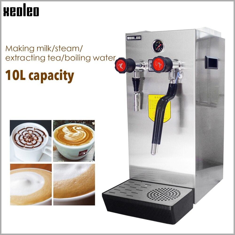 Xeoleo di Commercio di Latte macchina della bolla macchina A Vapore di acqua Bollente Acqua Caldaia Teapresso Macchina Per il caffè schiuma di Latte e caffè