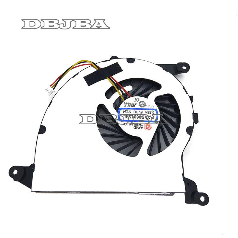 New For MSI GS40 GS43 GS43VR MS-14A2 Laptop CPU Cooling Fan PAAD06015SL N324 N351