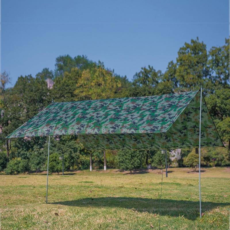 Impermeable UV multifunción tienda Tarp luz sol sombra verano jardín Gazebo Ourdoor sombra velas
