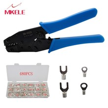 Pliers HM-0325 Durable Crimper Cable Cutter tools for crimping Multifunctional Automatic Wire compression crimp tool IT-480/box