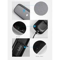 DOITOP Wireless Bluetooth Speaker With Mic Car sun visor Handsfree Multipoint Speakerphone Audio Music Adapter For iPhone Pad PC
