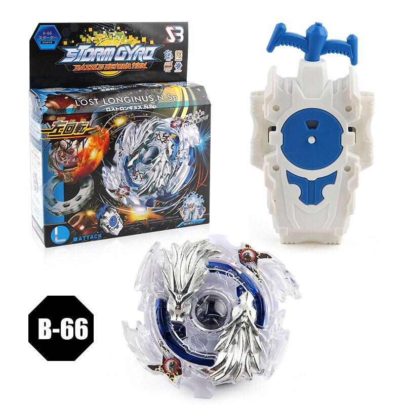 Fusion Top B 00 Verloren Longinus N.Sp Gold Dragon Burst Beyblade Launcher