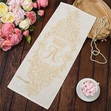 Полотенце именное махровое с вышивкой