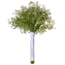 Wedding Bridal Bouquet Artificial Flowers Gypsophila Flower Simulation Starry Decorating Party Home Garden