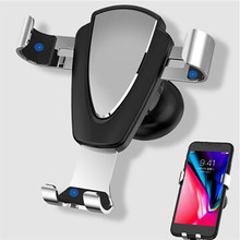 YWEWBJH Gravity Bracket Car Phone Holder Flexible Universal Support Mobile Stand For iPhone Samsung