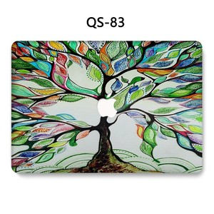 Image 4 - For Notebook MacBook Laptop Case Sleeve 2019 For MacBook Air Pro Retina 11 12 13.3 15.4 Inch With Screen Protector Keyboard Cove