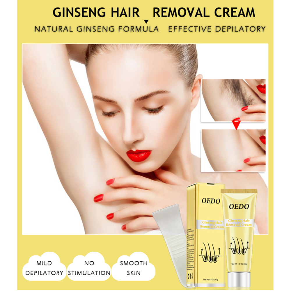 hair removal cream Ginseng Hair Removal Cream Skin Care Hair Remover for Body hair remover