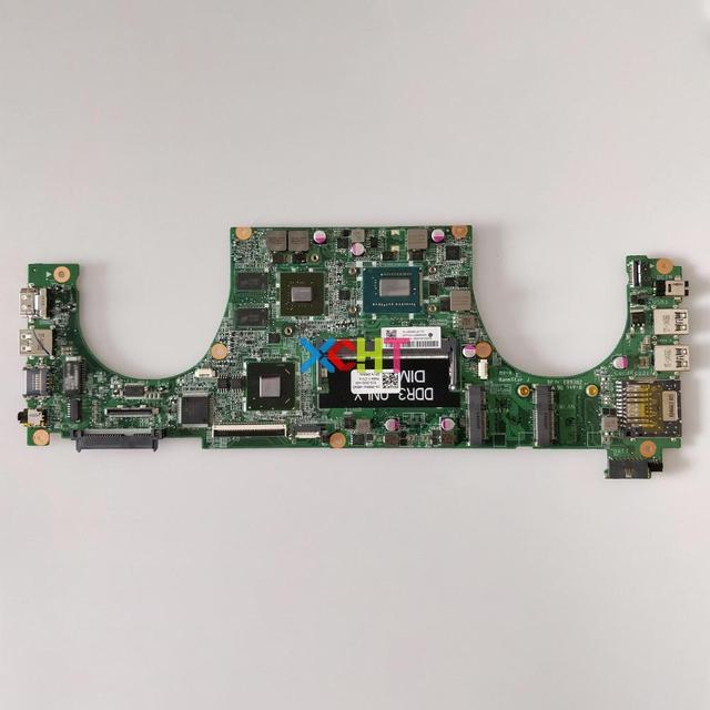 CN 0R6R4V 0R6R4V R6R4V DA0JW8MB6F1 w I3 3217U CPU w N13P GV2 S A2 GPU para Dell Vostro 5460 ordenador portátil placa base