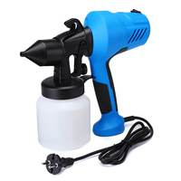 350W Power Electric Spray Gun, Electric HVLP Paint Sprayer Airless, 2.5mm Nozzle Easy Spraying and Clean Perfect For Home DIY