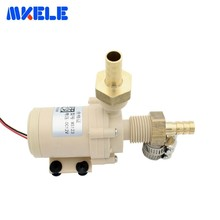 цена на DC12V 3M Brushless Water Pump Silent High Temperature Solar Electric Gas Water Heater Circulating Booster Pump