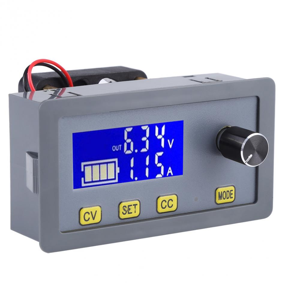 Image 3 - 160W 6V 32V to 0 32V 5A LCD Digital Step Down Power Module Buck Module Voltage Converter With Fan Testing Tool 2019 new style-in Voltage Regulators/Stabilizers from Home Improvement