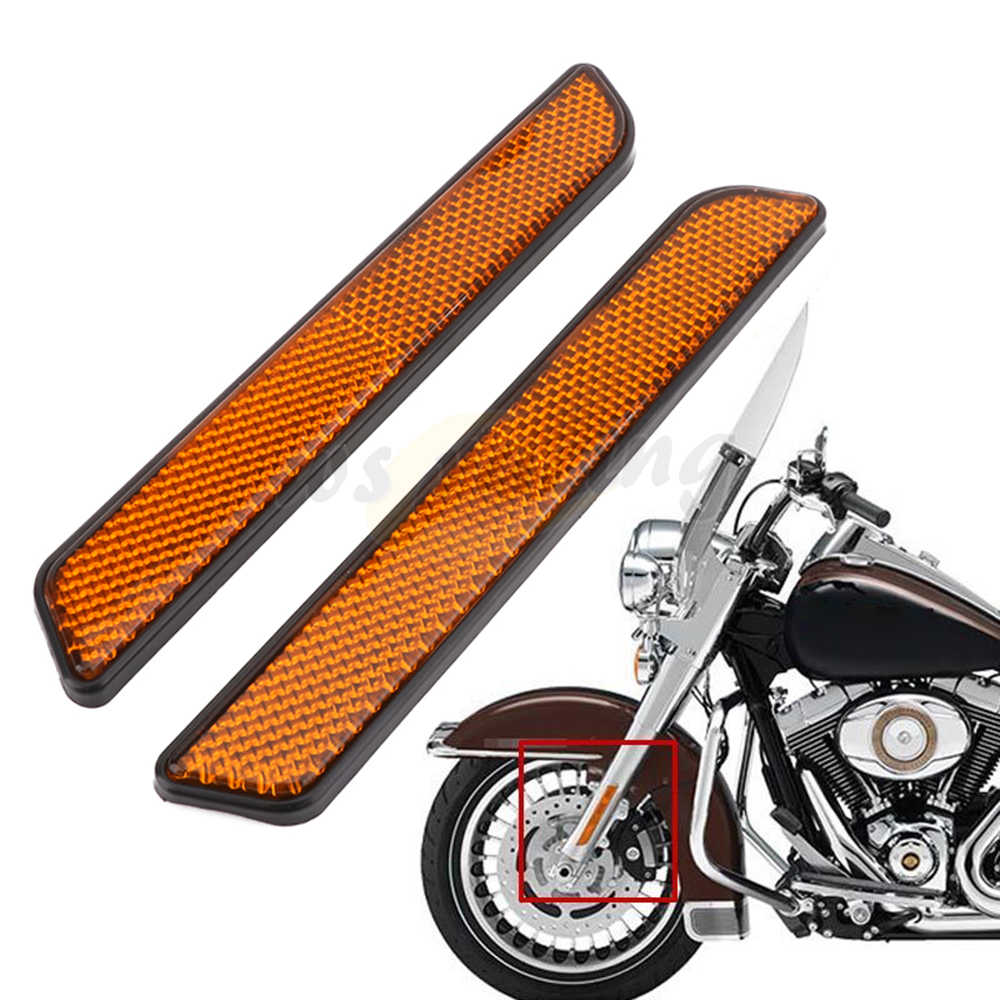 Detail Feedback Questions about Motorcycle Front Fork Reflector
