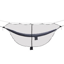 Detachable Hammock Bug Mosquito Net SnugNet Outfitters Simple Setup Fits Double Hammocks 360 Degree Protection Dual Sided Zipper