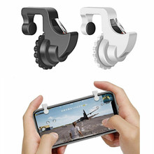 2Pcs Gaming Trigger Phone Game PUBG Mobile Controller Gamepad for Android IOS Gamepads Shooter Pubg Controller(China)