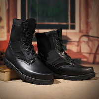 Winter/autumn Men Quality Brand Military Leather Boots Special Force Desert Boats Outdoor Shoes Snow Boots