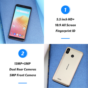 Image 4 - Ulefone S9 Pro Android 8.1 5.5 Inch 18:9 MTK6739 Quad Core RAM 2GB Rom 16GB 13MP + 5MP Dual Camera Sau 4G