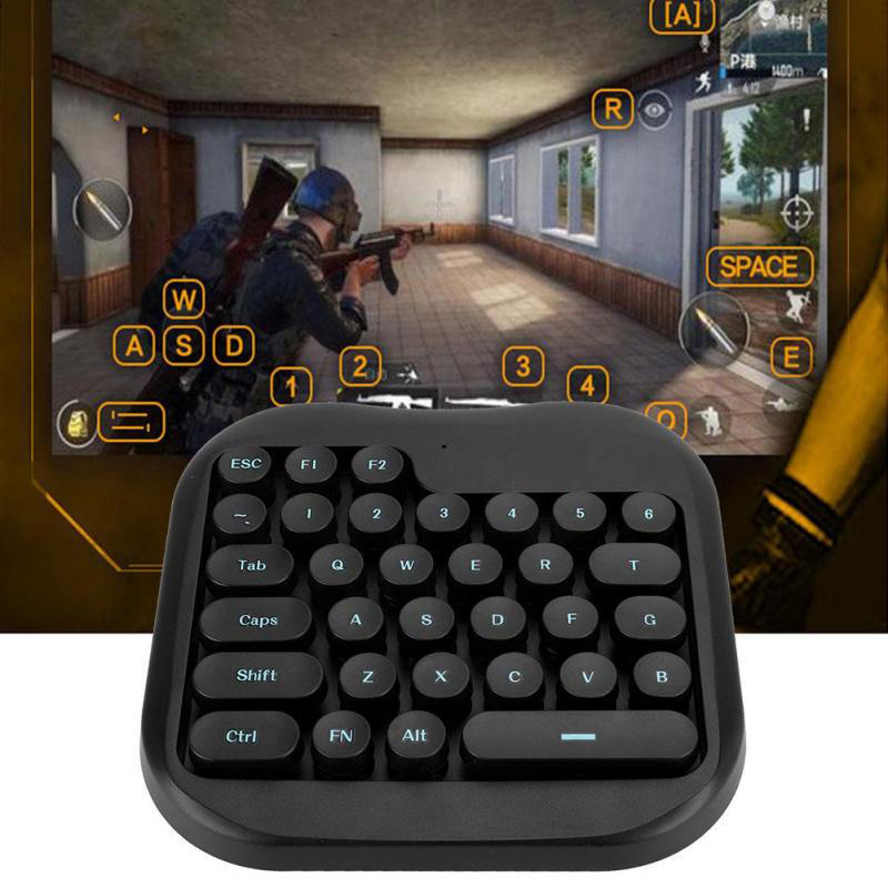 Plug and Play PUBG Mobile Gamepad Controller Gaming Keyboard Mouse  Converter Adapter Dock Station for Android Phone