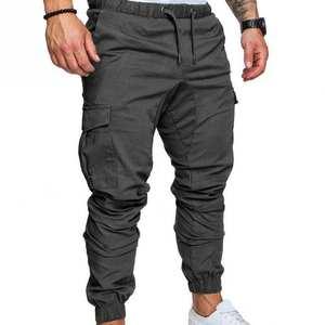 Mens Yoga Trousers Gent Linen Pants Trousers Loose Beach Casual Drawstring Slack