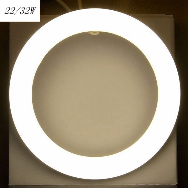 22W 32W Round Fluorescent Lamp Circular Blub Lamp T9 Ring Tubes Light Replacement Of Fluorescent Light Lamp Fluorescent