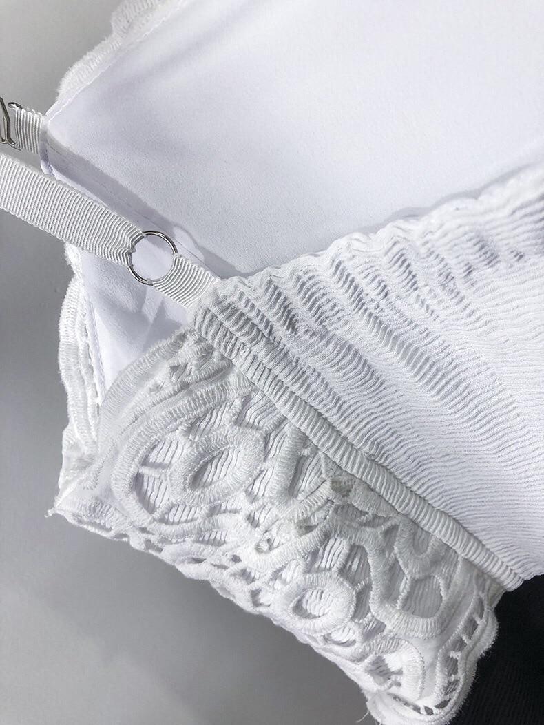 Da Del Donne Nuovo In Modo Signora Bianco Senza Partito Sexy Vestito Di E Merletto Aderente Delle Rappezzatura Nero Della Bretelle Estate SMUpzV