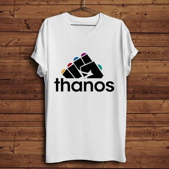 avenger Thanos Infinity gauntlet funny t shirt men 2019 summer new white casual homme cool t-shirt