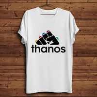 avenger Thanos Infinity gauntlet funny t shirt men 2019 summer new white casual homme cool t-shirt