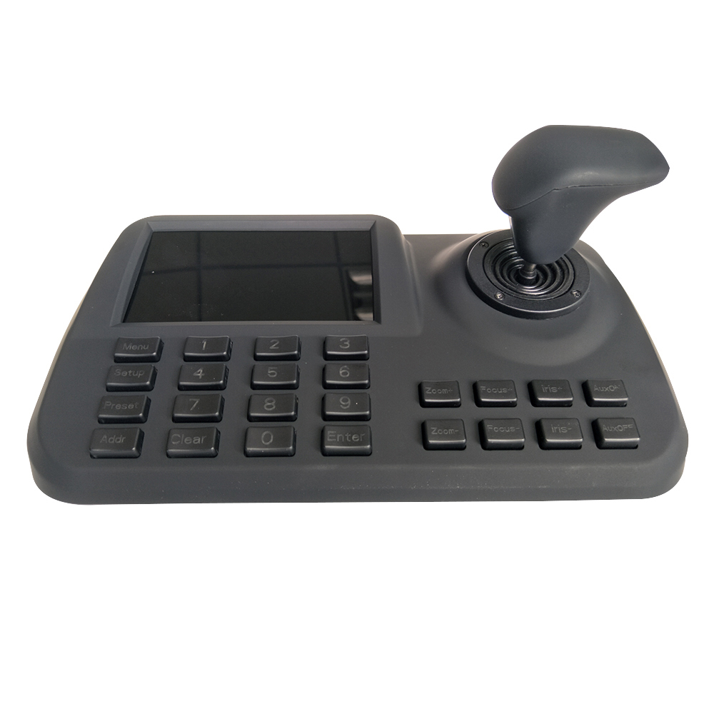 5 Inch For Onvif IP PTZ Keyboard Controller IP PTZ Camera 3D Joystick HD LCD Display