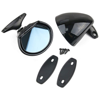one pair (two pcs ) vintage classic car external door wing side rear mirror R+L
