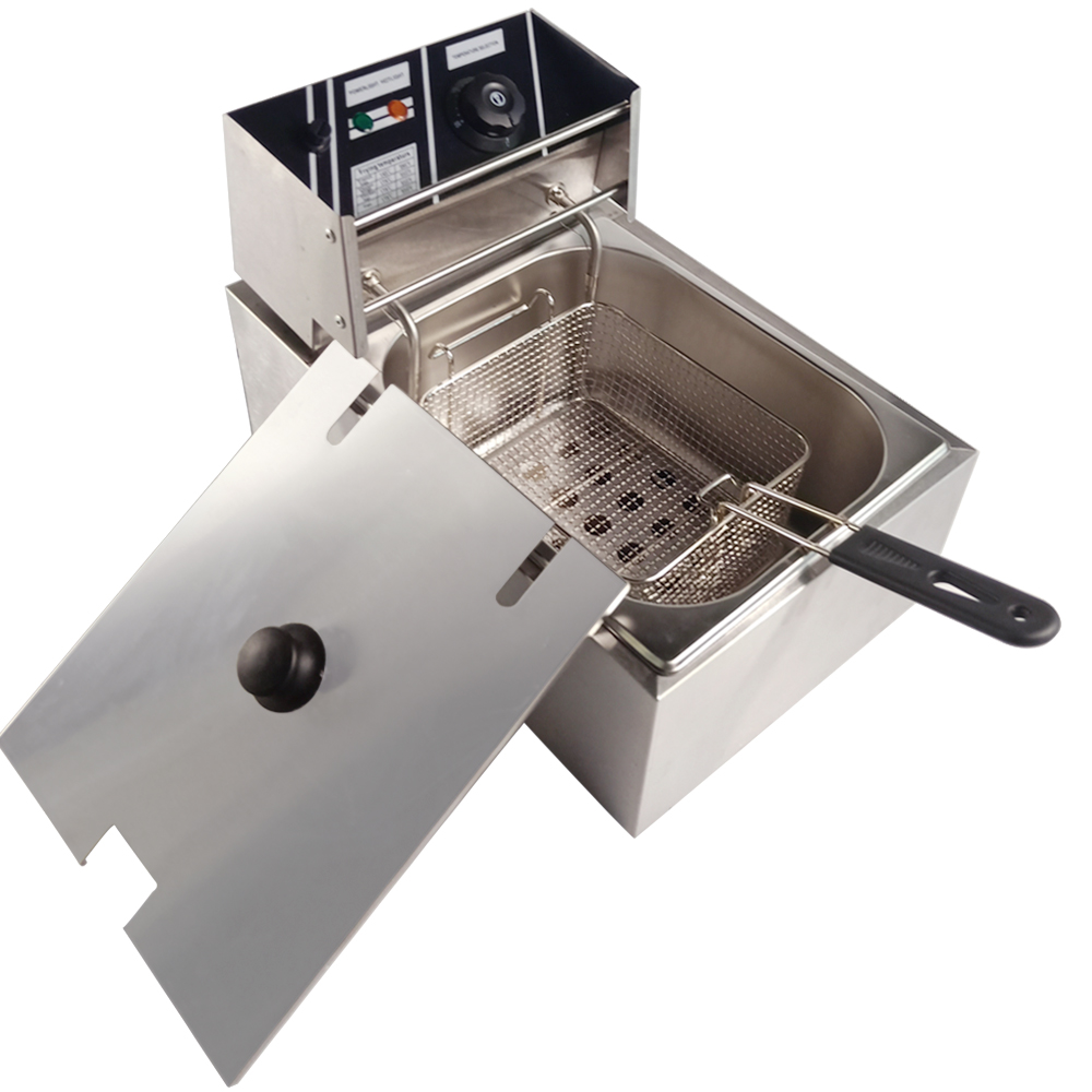 hot sale commercial electric deep fryer furnace for restaurant home use oil fat frying machine grill fried chicken dough [ 1000 x 1000 Pixel ]