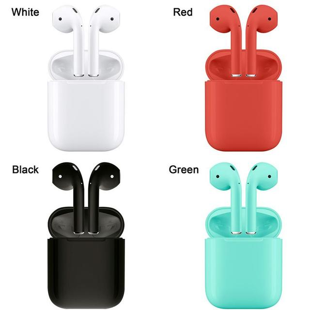 I12 TWS Bluetooth 5.0 Headset With Charging Compartment Pop-up Window True Stereo Wireless Bluetooth Earphone