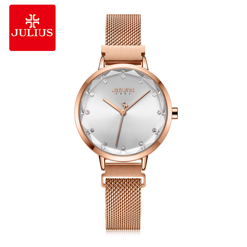 Magnetic Buckle Womens Watch Miyota Movt Lady Hours Fine Fashion Bracelet Stainless Steel Girls Birthday Gift Julius BoxMagnetic Buckle Womens Watch Miyota Movt Lady Hours Fine Fashion Bracelet Stainless Steel Girls Birthday Gift Julius Box