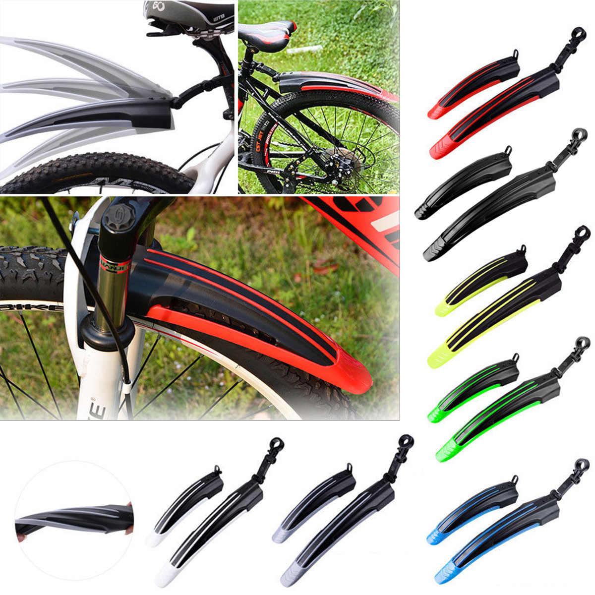 MTB Mudguard Guard Set Mountain Bike Bicycle Fender Front Rear Tyre Mud Guard