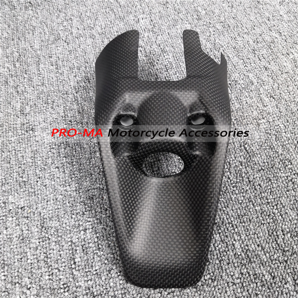Motorcycle Key Cover in Carbon Fiber For Ducati Monster 1200 821 2017 2019 Plain Matte