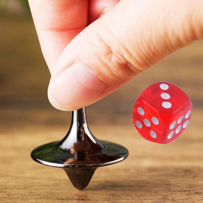 Metal Spinning Top Toys Children Kids Adult Antistress Gyroscope Office Party Game Favor Spin Top Spinner Gyro Toy Gifts