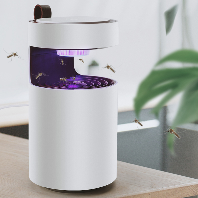 Low Voltage Ultraviolet Light Mosquito Killer Lamp Safe Energy Power Saving Efficient Surrounding Type Photocatalytic Light in Bug Zappers from Home Garden