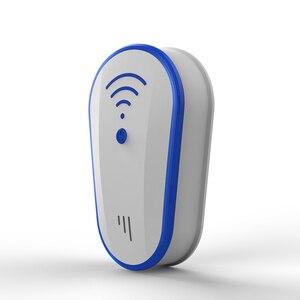 Image 2 - Wielofunkcyjny ultradźwięki przeciw komarom odstraszacz owadów szczur mysz karaluch Pest odrzuć odstraszacz ue/US Plug repelent Killer