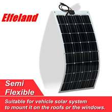 Elfeland? SP-7 80W 12V ETFT High Effefficiency Flexible Monocrystalline Solar Panel(China)