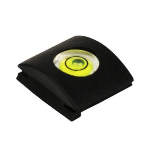 Flash Hot Shoe Protective Cover Cap With Bubble Spirit Level for Nikon Fuji 0lympus Camera Accessories(China)