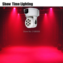 High bright Mini LED moving head light 7pcs RGBW led lamp wash effect for stage DJ Bar Club Disco Home entertain Wash background