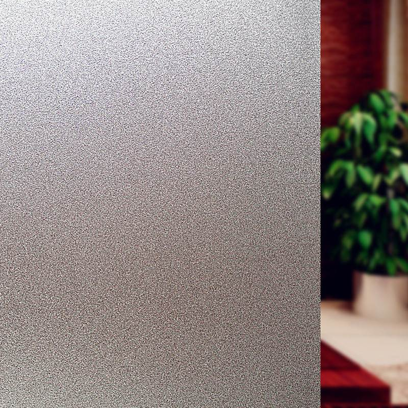 1 roll 1m/3m Frosted Privacys Window Film Home Office Sticker Glass Vinyl Sticky Paper Decorative Films