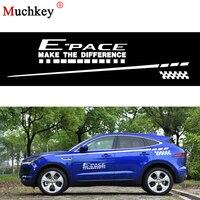 Car Side Body Decal Car Sticker for Jaguar E PACE Car Decoration Sticker for Hatchback Sedan SUV Decals DIY 280cm Auto Part