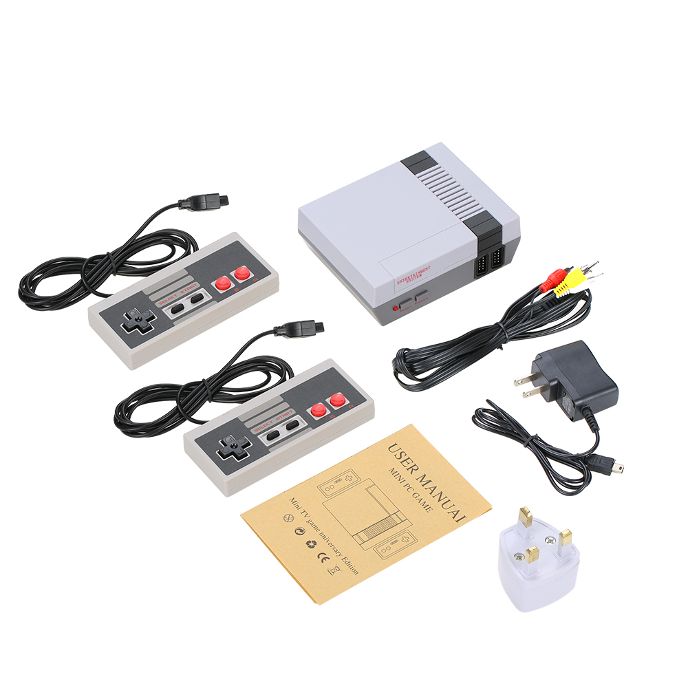 Retro Video Game Console Family Recreation 500 Classic Different Games Handheld TV Consoles Dual Gamepad Game Players Best Gift
