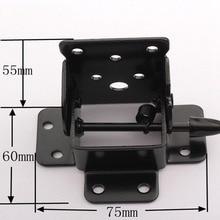 Folding Table Chair Leg Hinge 90 Degree Self Locking Furniture Bracket Hinges Hardware Accessories WXV Sale
