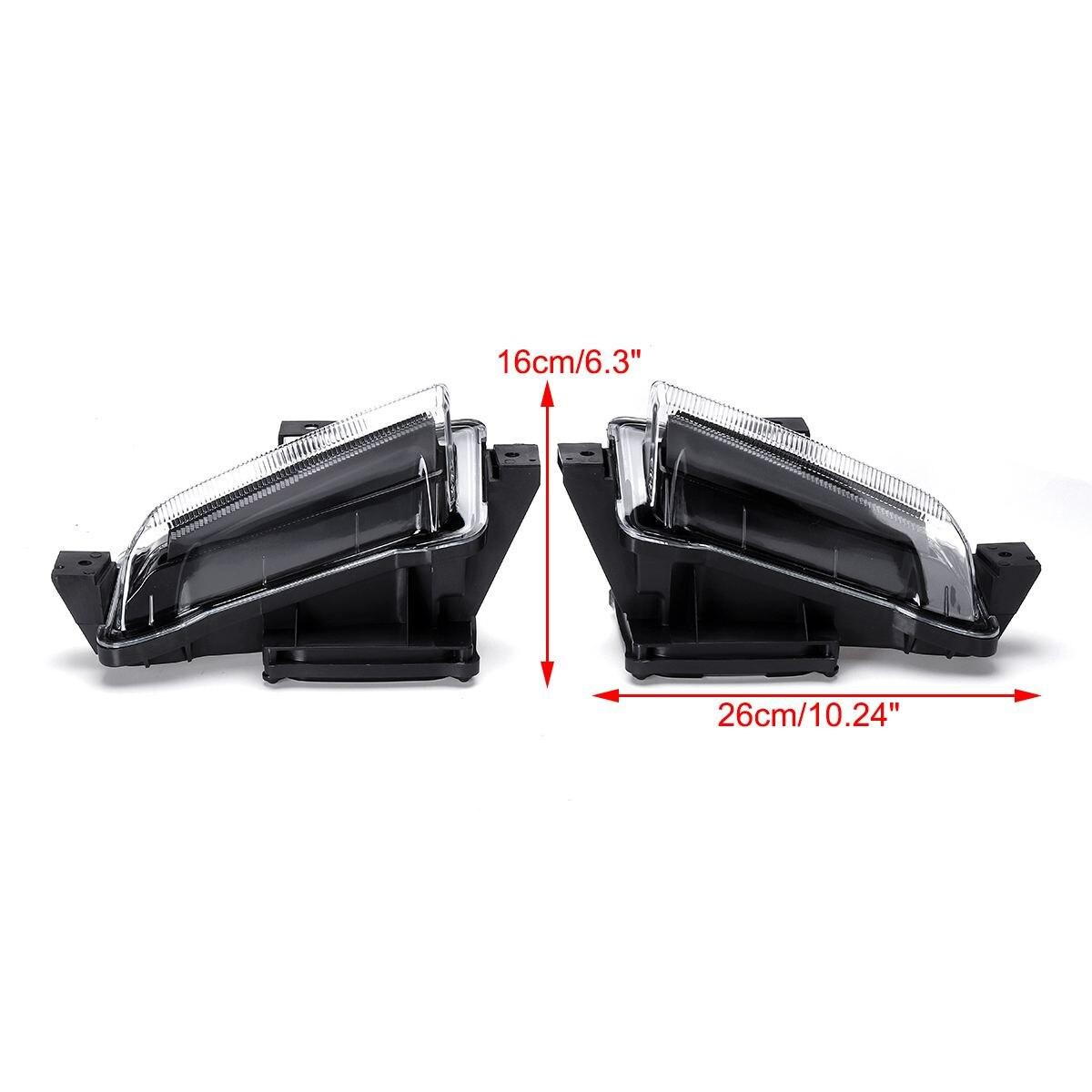Di giorno Corsa e Jogging Luci, 5 luce Bianco/Ambra LED Daytime Corsa e Jogging Luce DRL Segnale di Girata Dual Modello DRL per Ford F150 Raptor 2016 2 - 5