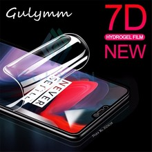 цены 7D Ultra-thin Soft Hydrogel Film For Oneplus 5 5T 6 Full Cover Screen Protector Film For Oneplus 6T 7 7T T Protective Film
