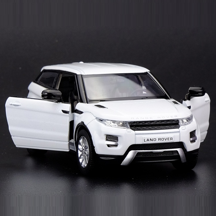 High Simulation Exquisite Die-casts&Toy Vehicles: RMZ City Car Styling Evoque Luxury SUV 1:36 Alloy Car Model Pull Back Car
