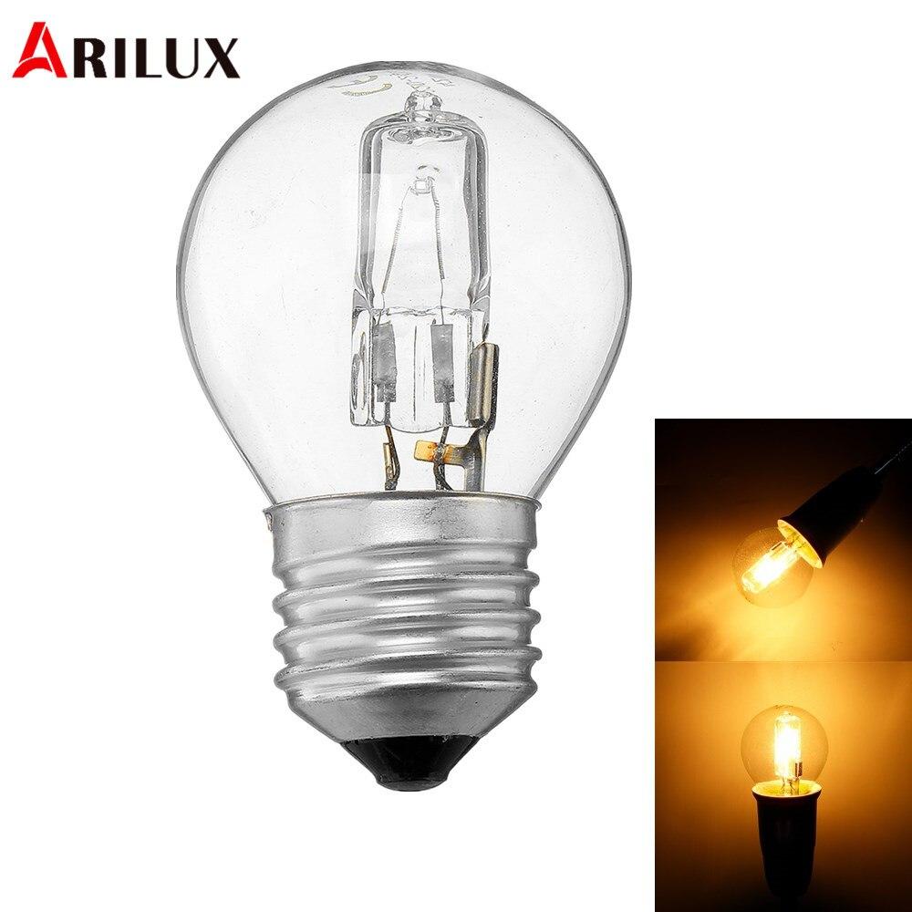 ARILUX Microwave Oven Light Bulb E27 G45 42W High Temperature 300 Microwave Oven Light Bulb AC110-250V