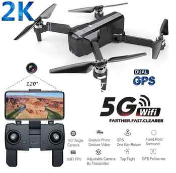 SJRC F11 PRO GPS 5G Wifi FPV With 2K Camera 25mins Flight Time Brushless Selfie RC Drone Quadcopter - DISCOUNT ITEM  50% OFF All Category